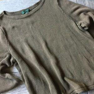 Lauren RL Crew Neck Sweater